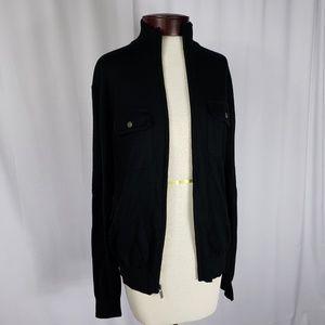 Michael Kors Zip Front Sweater